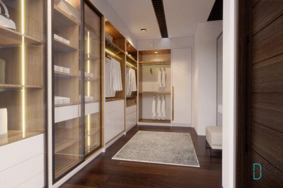 desain walk in closet jakarta