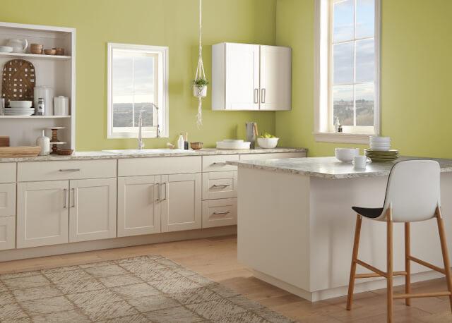 warna cat dapur spring green - Inspirasi Desain Warna Cat Dapur Terbaik, Menjadikan Dapur Terlihat Lebih Menyenangkan