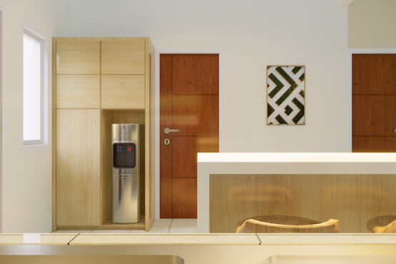 desain dapur gaya skandinavian