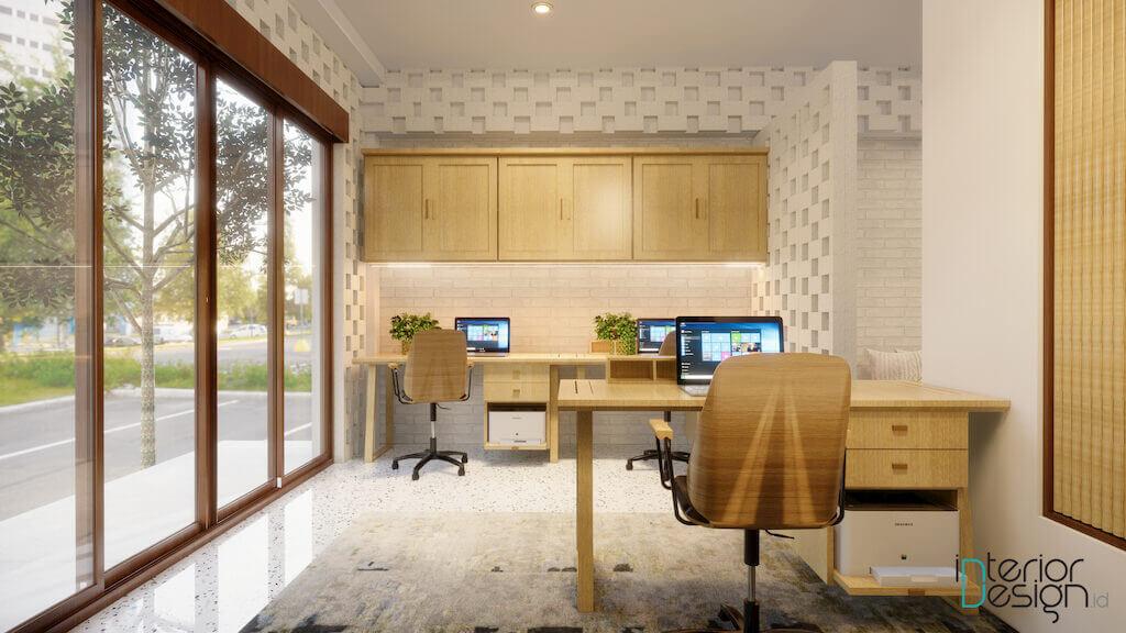 interior kantor modern Bali
