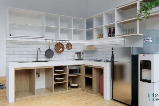 desain interior dapur depok