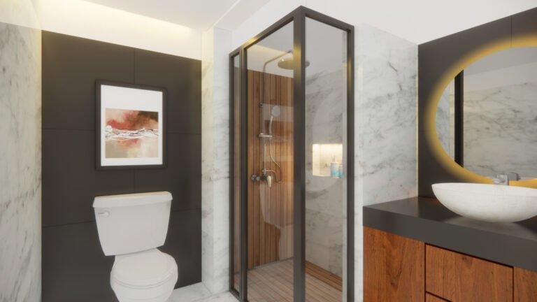 desain kamar mandi tangerang