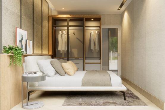 desain kamar tidur modern jakarta