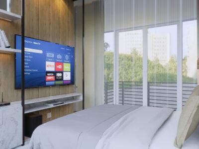 desain kamar tidur utama bekasi