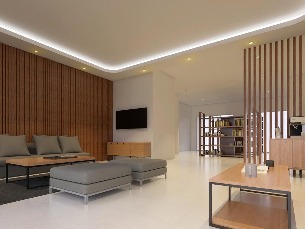 desain kantor bappeda lampung