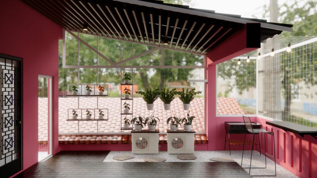 desain rooftop tangerang selatan