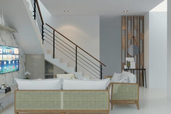 desain ruang keluarga bekasi