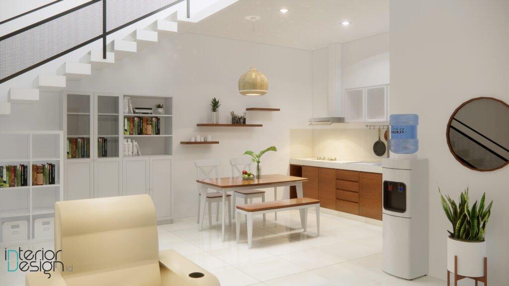 desain interior rumah gaya scandinavian bandung