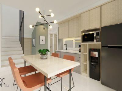 desain interior dapur dan ruang makan minimalis