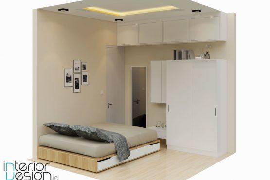Interior kamar tidur modern minimalis