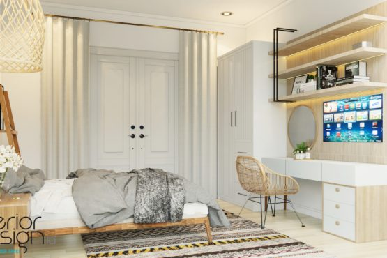 interior kamar anak gaya skandinavia