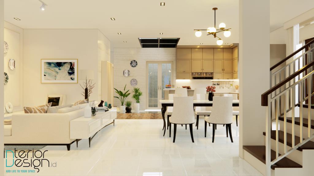 Interior rumah klasik kontemporer bandung