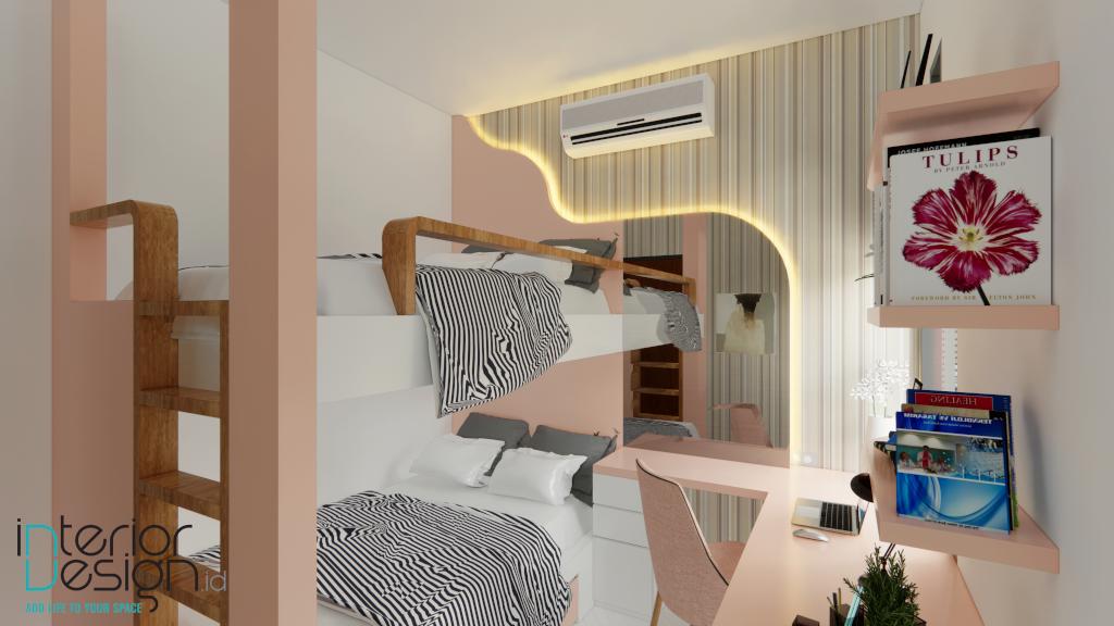 interior kamar anak gaya modern