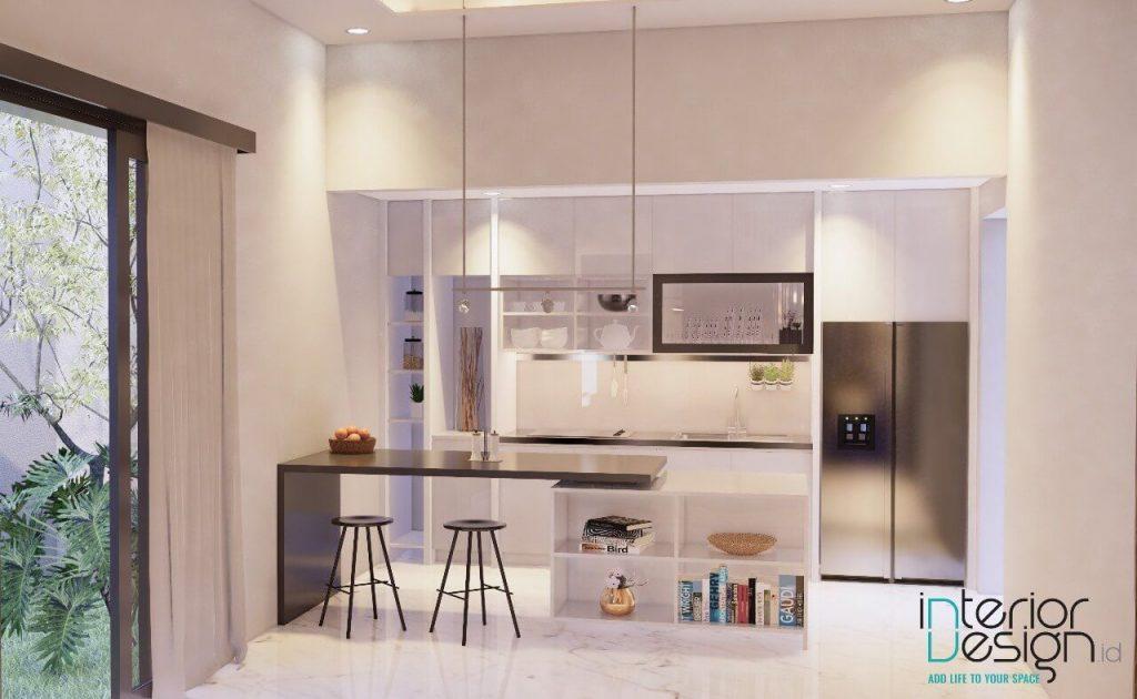 desain pantry gaya modern minimalis