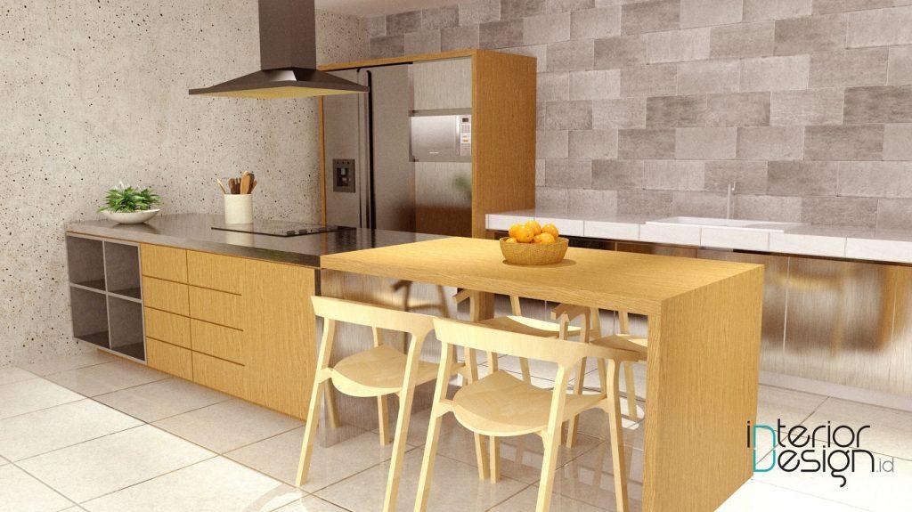 desain pantry gaya japanese minimalis