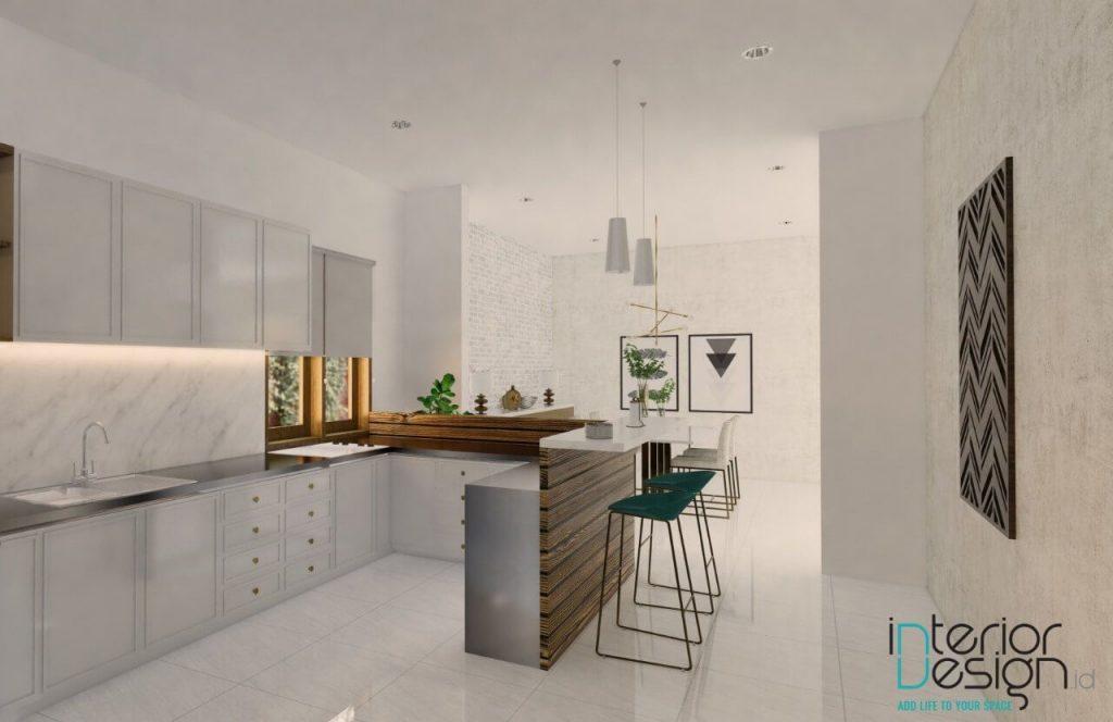 desain pantry gaya klasik modern