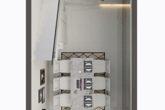 interior ruang makan gaya modern luxury