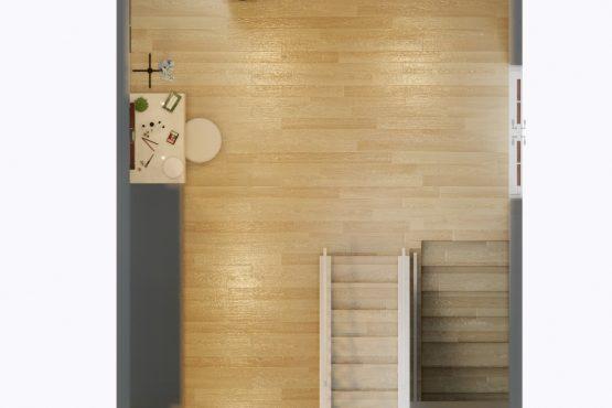desain ruang makan dan walk in closet