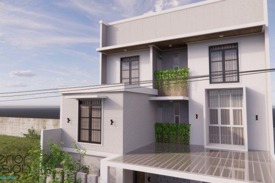 desain facade rumah modern