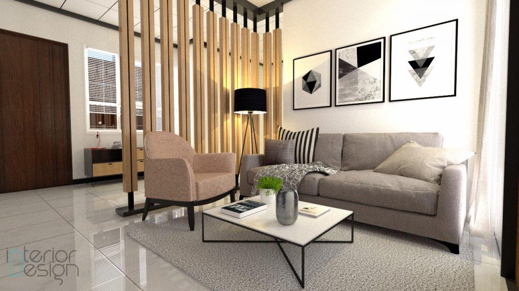 desain ruang tamu modern minimalis, Jepara