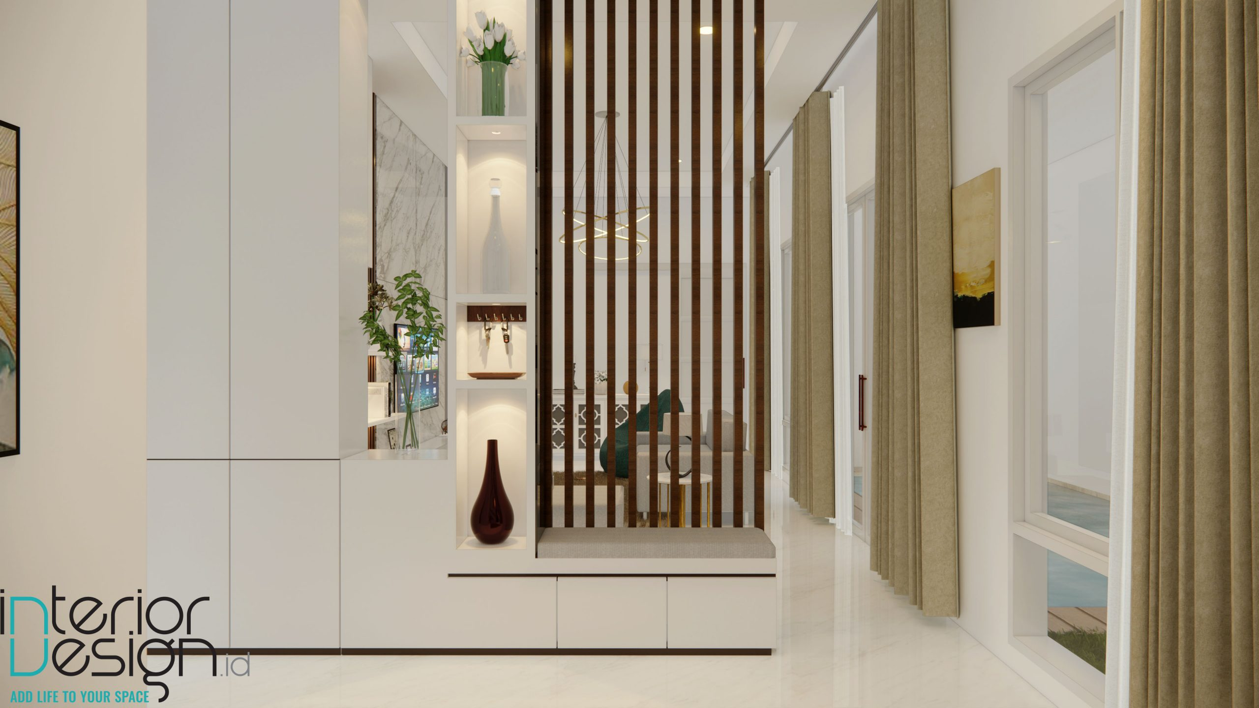 Interior rumah modern klasik