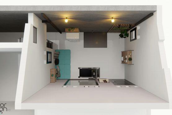 Interior ruang cuci