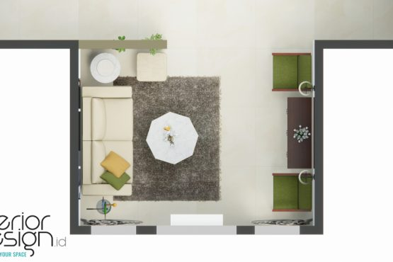 interior ruang tamu klasik modern