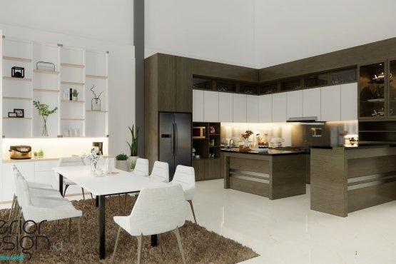 desain dapur dan ruang makan modern