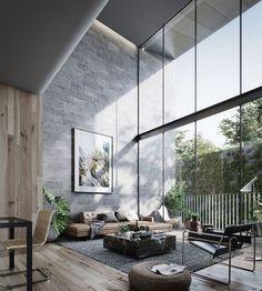 interior rumah modern kontemporer