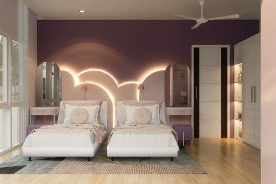 interior kamar tidur anak