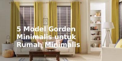 model gorden rumah minimalis