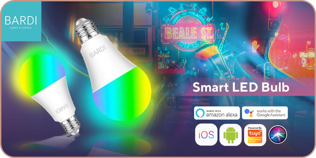 smart led buld untuk smart home