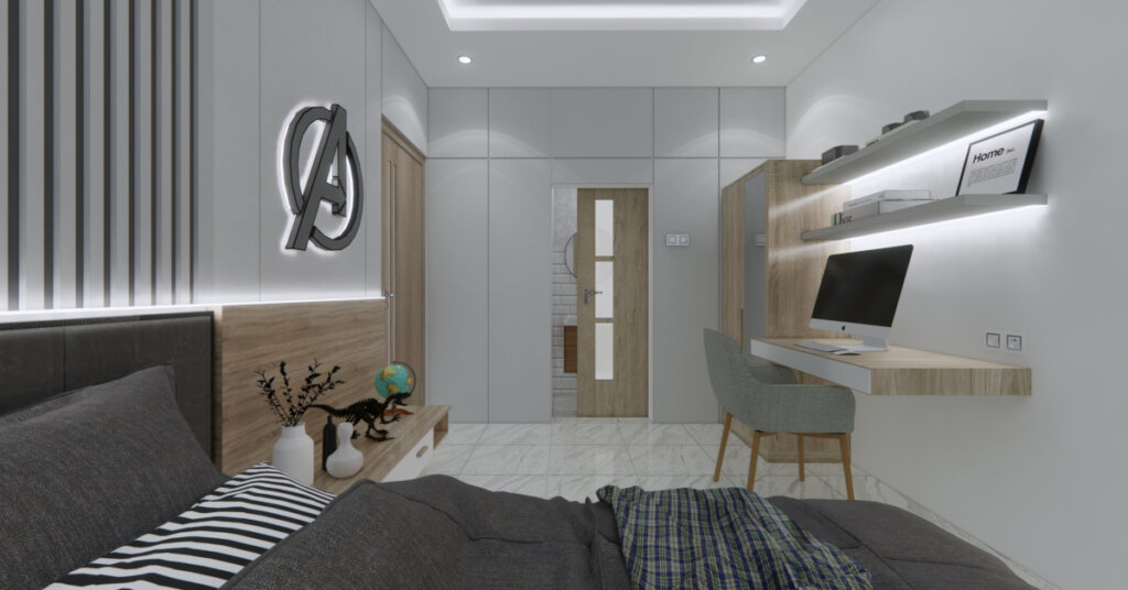 tips desain kamar tidur kecil