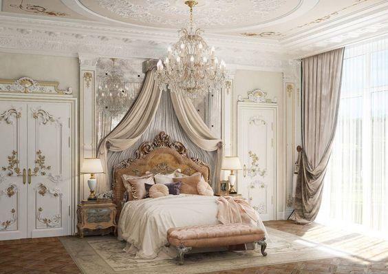 interior kamar tidur gaya klasik