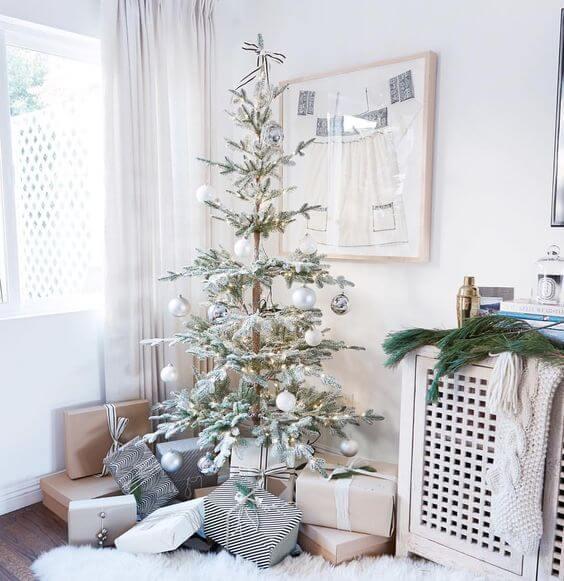 kreasi suasana natal di dalam rumah