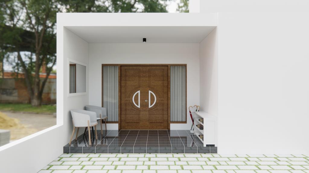 eksterior rumah sederhana