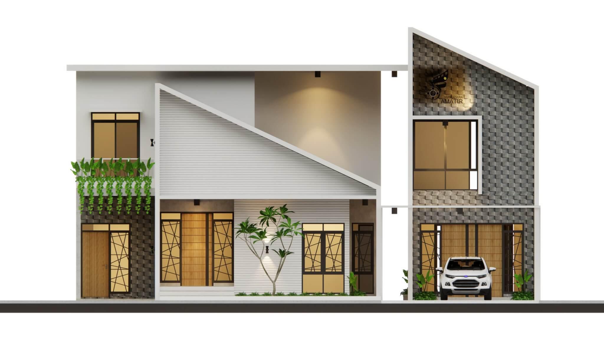 facade rumah modern minimalis