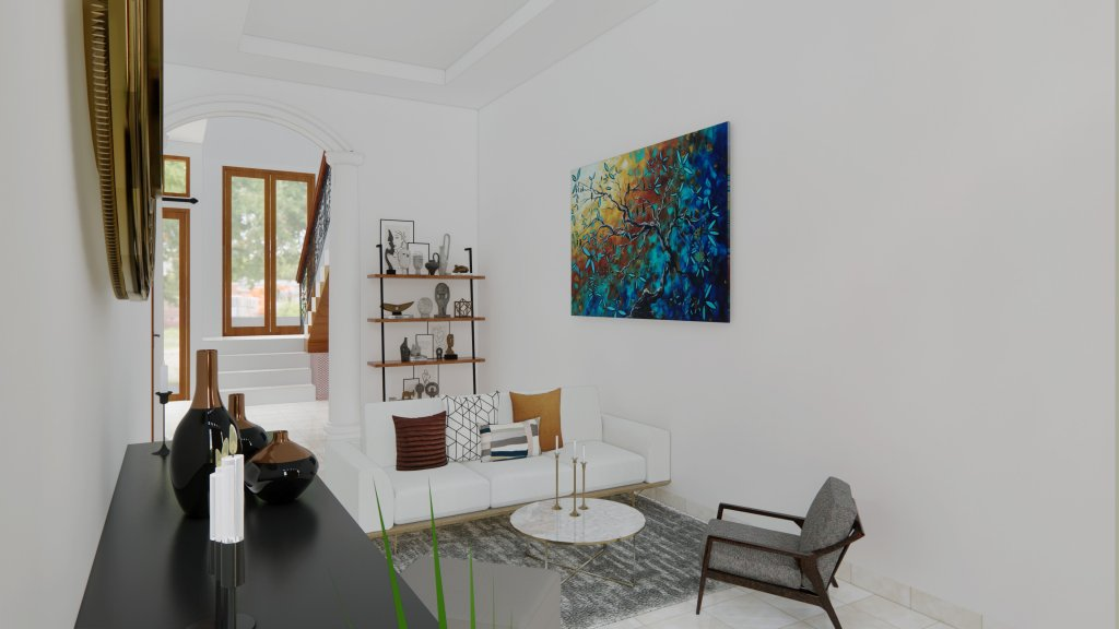 interior ruang tamu minimalis