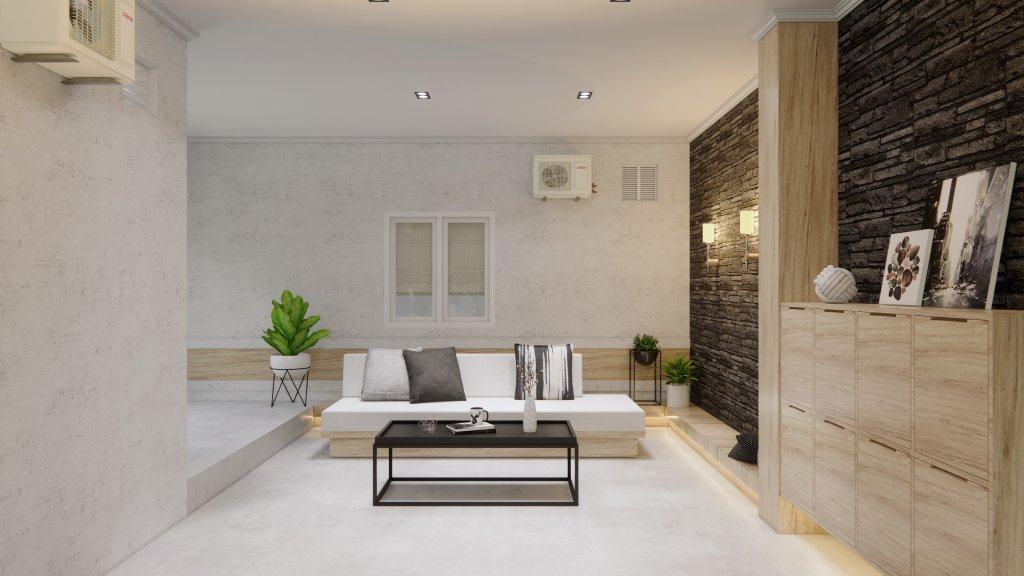 interior ruang santai