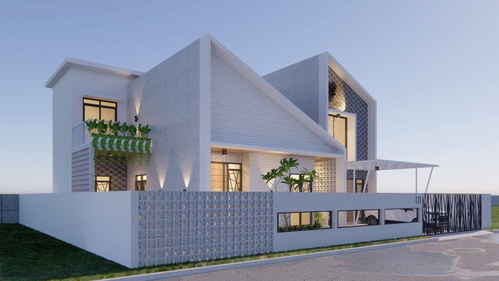 desain facade, tampak depan rumah