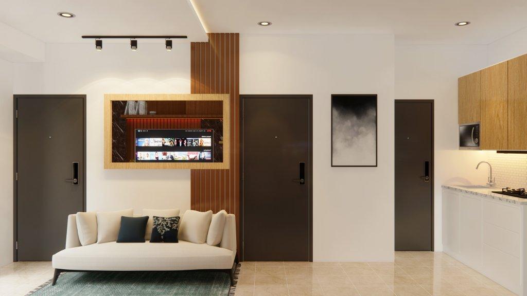 interior apartemen modern minimalis