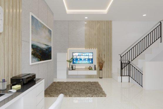 interior ruang Tv