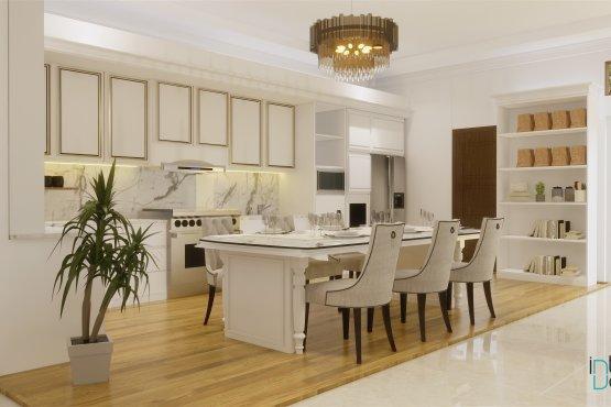 interior rumah klasik modern