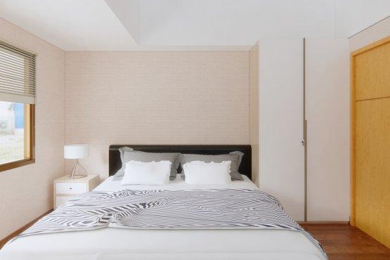 interior apartemen 1br