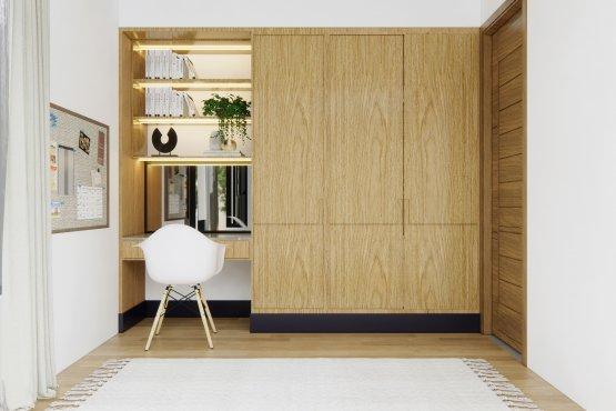 wardrobe interior kamar
