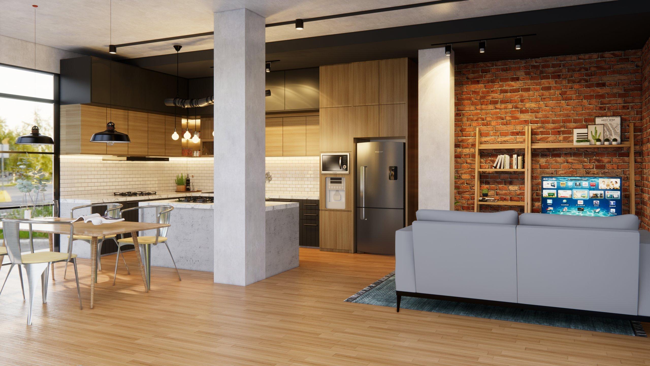 Mengenal Elemen Dasar Dan Ciri Khusus Desain Rumah Gaya Industrial Modern Interiordesign Id