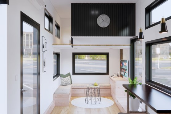 interior rumah mungil