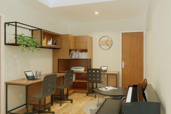 interior ruang kerja