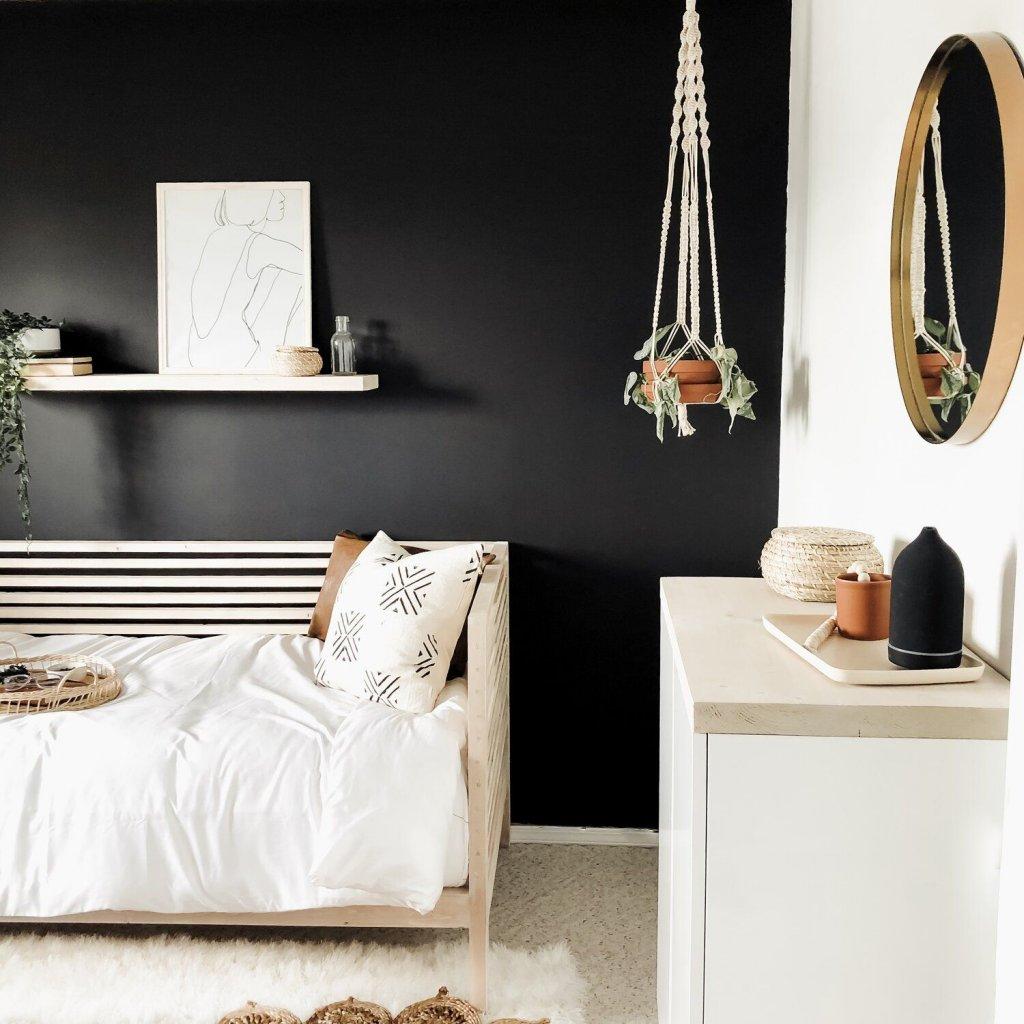 warna rumah hitam