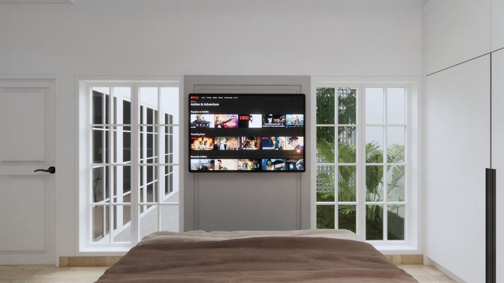 jendela di rumah minimalis modern